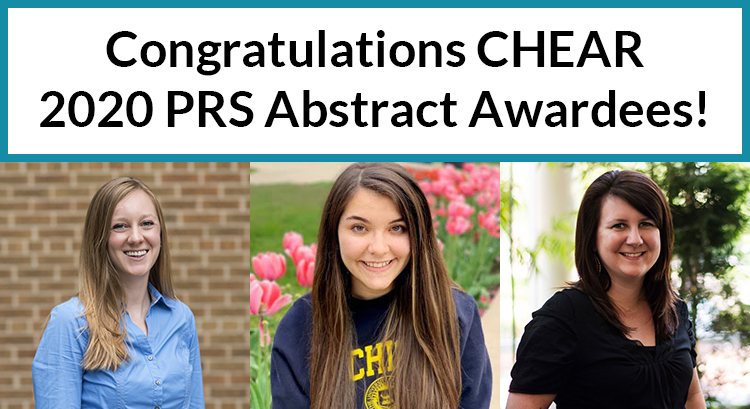 Congratulations CHEAR 2020 PRS Abstract Awardees